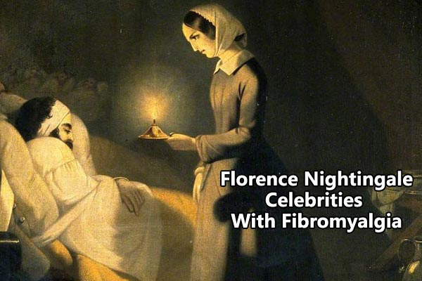Florence Nightingale celebrities with fibromyalgia
