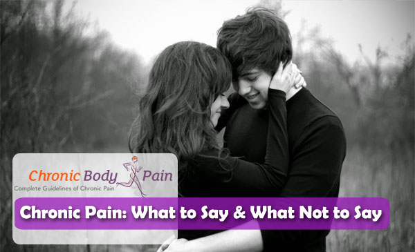 loving words for someone in chronic pain