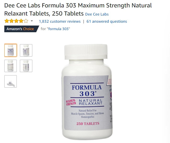 best Natural Relaxant Tablets amazon