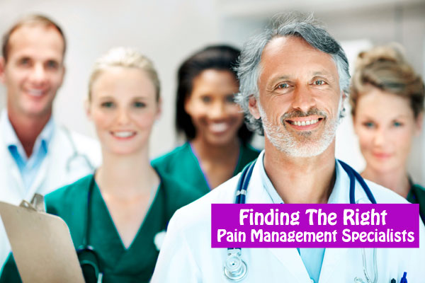 how to find Pain Management Specialists