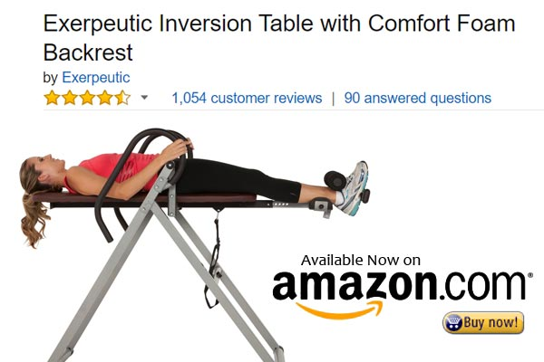 The Exerpeutic Inversion with Comfort Foam Backrest review