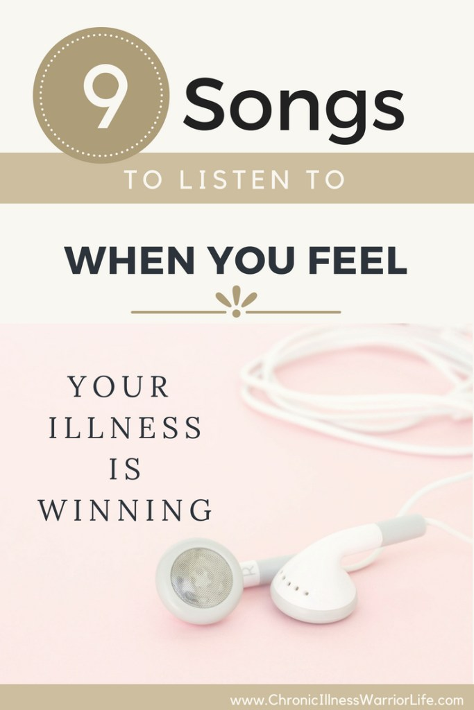 Listening to these songs when I am down is so powerful in changing my mood for the better. I actually listen to it regularly and I believe it is a proactive move to keep my chin up and mental armor on.