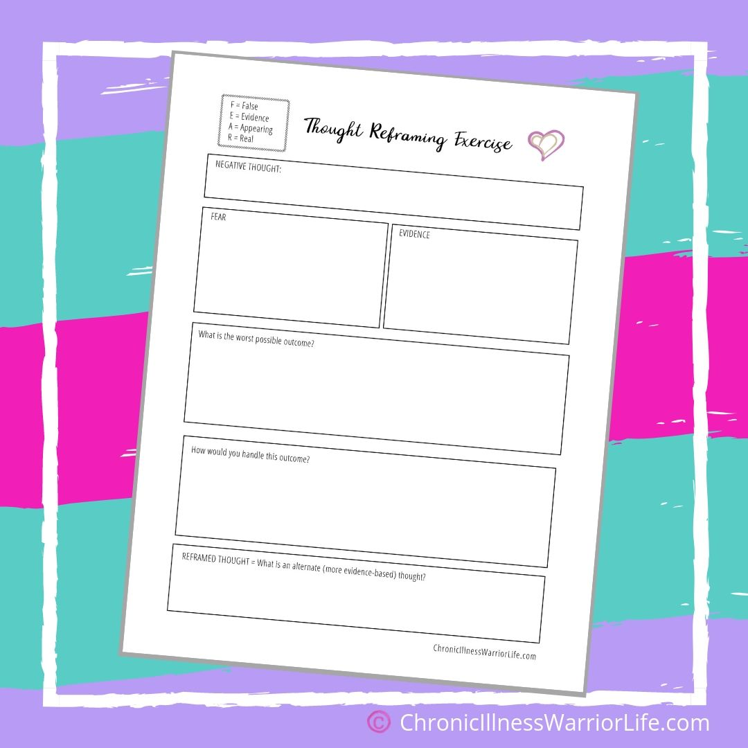 Free Printable Mental Health Worksheets