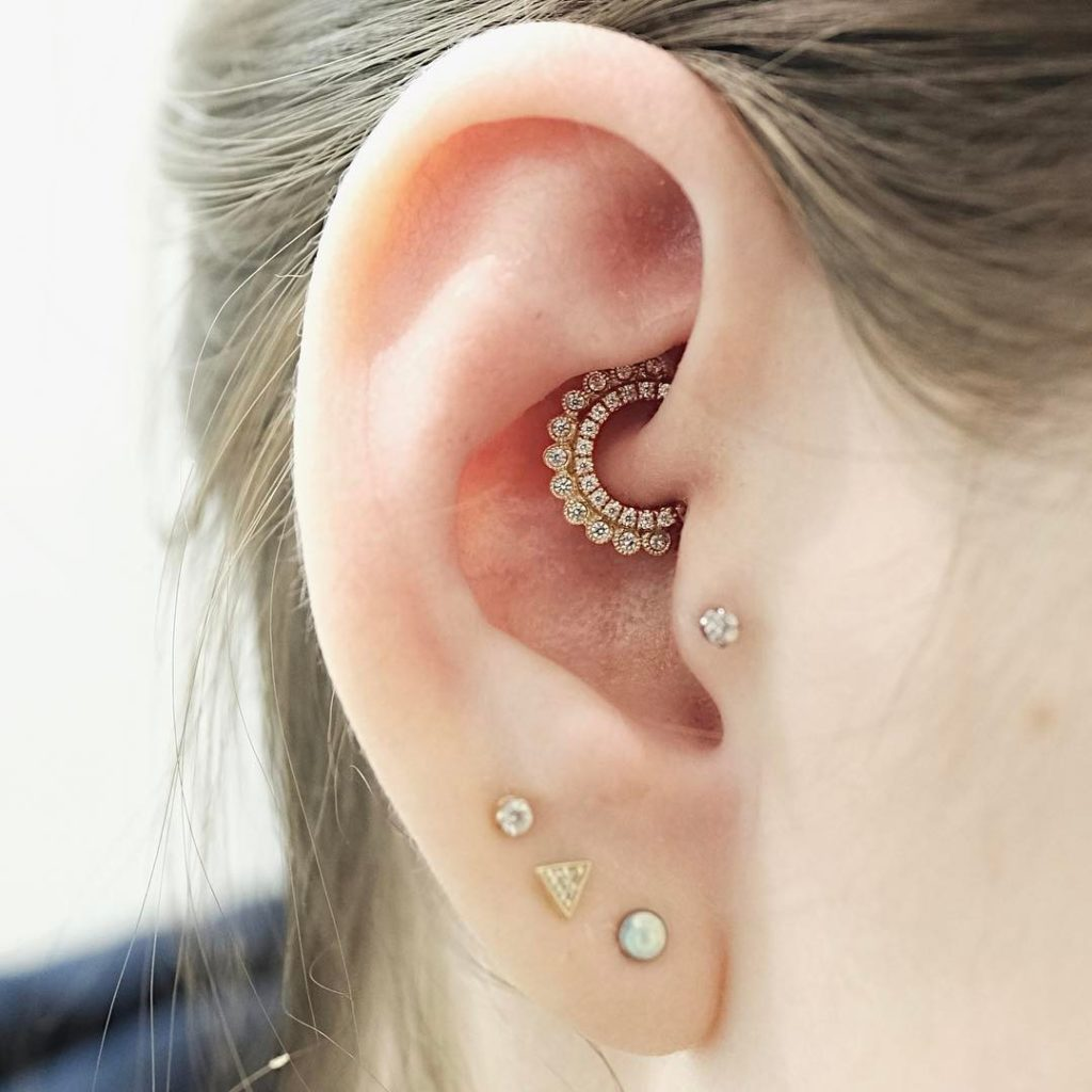 Taking A Shine To Constellation Piercings Chronic Ink