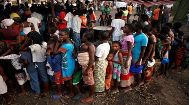 Cholera vaccination starts in Mozambique