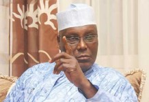 Former Vice President Atiku Abubakar has announced that his son has contracted coronavirus