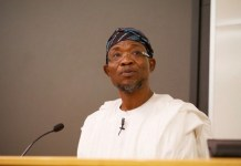 Ogbeni Rauf Aregbesola, Minister of Interior public holiday Ministry of Interior