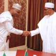 Senate President Bukola Saraki and President Muhammadu Buhari