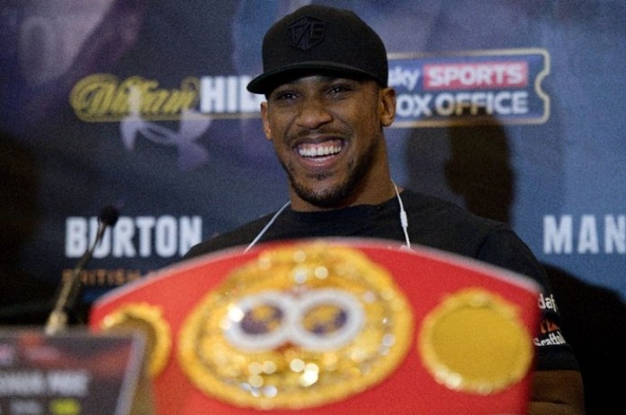 Anthony Joshua is the new World Heavyweight champion