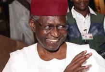 Abba Kyari, Chief of Staff to President Muhammadu Buhari