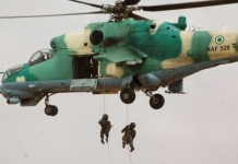 Nigerian Air Force (NAF) has neutralised ISWAP in Borno