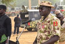 Chief of Army Staff, Lt.-General Tukur Buratai