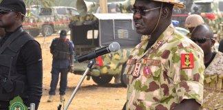 Chief of Army Staff, Lt.-General Tukur Buratai