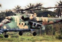 Nigeria Air Force have bombarded a Boko Haram in Daban Masara, Borno