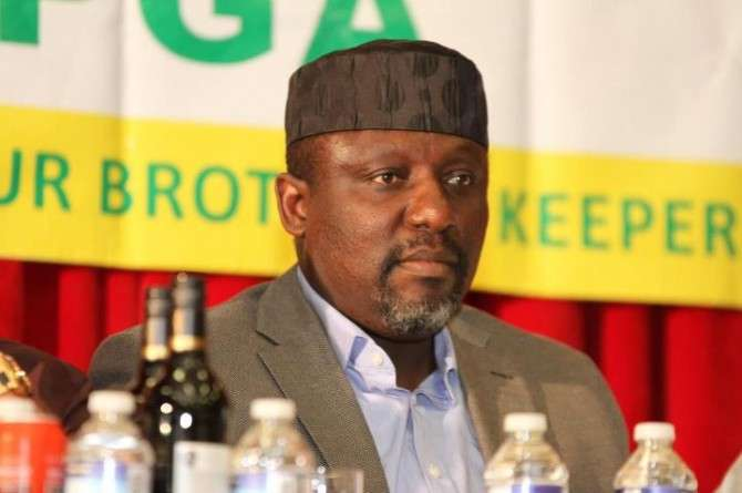 INEC has handed Rochas Okorocha his Certificate of Return following a court order