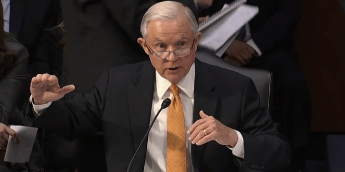 Jeff Sessions denied meeting with the Russian ambassador