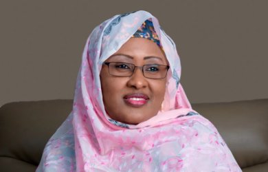 The wife of the President, Aisha Buhari has distanced herself from Amina Mohammed arrested by DSS for impersonation
