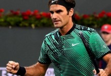 Federer: books quarter final date with Berdych