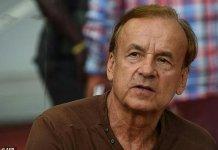 Nigeria's German coach Gernot Rohr