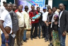 Christ Foundation Orphanage in Kuje Abuja during the visit of Junior Chambers Intl