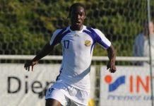 Gabon defender Moise Brou Apanga