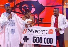 Tboss wins N500,000 from PayPorte