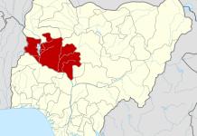 Niger State on Nigerian Map