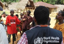 WHO adopts measures to support DR Congo