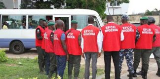 Sampson Onyekachi has been jailed for dud cheque China Zhonghao EFCC Five Indians Jailed for Oil Theft In Lagos EFCC logo