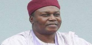 Taraba state Governor Darius Ishaku has been re-elected