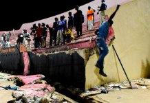 Eight killed in Senegal stadium collapse