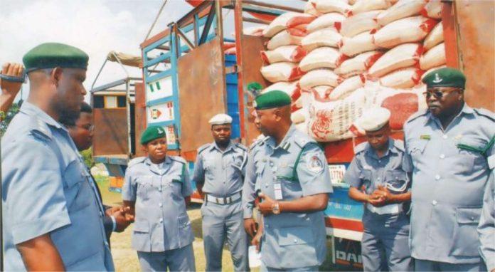Nigeria Customs officers