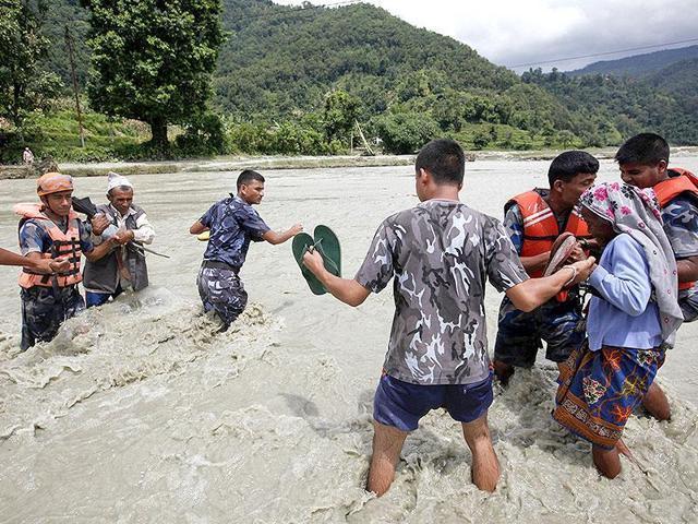 120 persons killed in Nepal flood, landslide