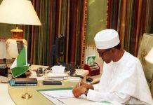 President Muhammadu Buhari has signed the 2010 International Cocoa bill