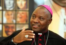 Pope Francis appointed Most Reverend Ignatius Kaigama as Archbishop of Catholic Archdiocese of Abuja