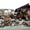 Ancient Ekeukwu Owerri Market, being demolished by Imo government…yesterday.