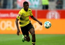 Dembele scored 10 goals and provided 21 assists in all competitions for Dortmund last season