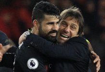Diego Costa holds no animosity towards Chelsea manager Antonio Conte