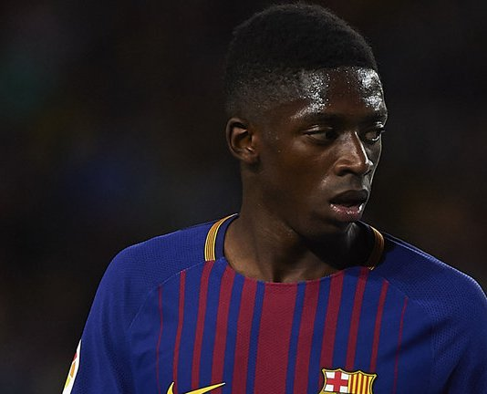 Manchester United have their sight on Barcelona forward, Ousmane Dembele telles