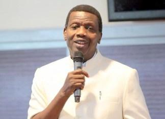 Pastor Adeboye, General Overseer of the Redeemed Christian Church of God
