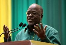 Tanzanian President John Magufuli says God eliminated coronavirus