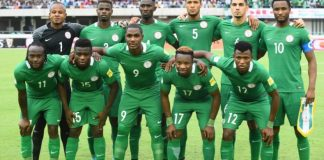 Super Eagles of Nigeria have moved up 12 places on the FIFA ranking