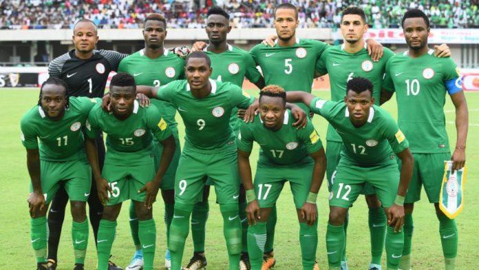Nigeria play Egypt in a friendly match