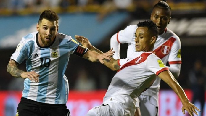 Argentina's Lionel Messi (left) was unable to inspire Argentina to victory