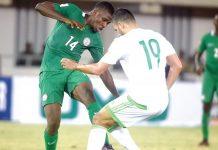 Algeria will host Nigeria…on November 10.
