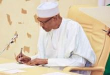 President Muhammadu Buhari has signed Finance bill into law