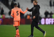 Jurgen Klopp was impressed with the performance of Wijnaldum and the rest of the team