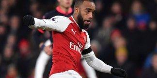 Alexandre Lacazette scored twice as Arsenal thrash CSKA Moscow 4-1