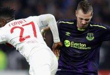 Everton midfielder Morgan Schneiderlin has joined Nice