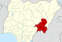 Taraba state on the map